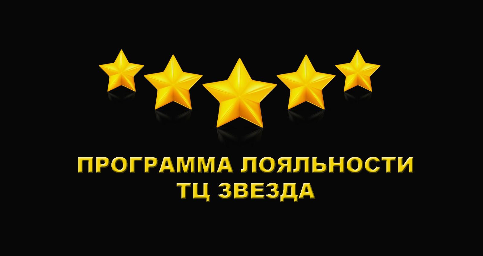 Программа лояльности техцентра Звезда
